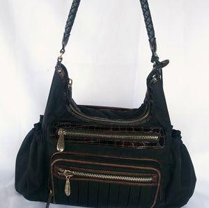 Handbags - Black Brighton Shoulder Bag